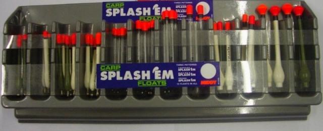 Sada Splávků Middy Splash EM & Baggin 120 floats