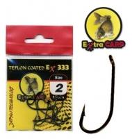 Extra Carp Teflon Hooks série Ex 333
