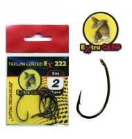 Extra Carp Teflon Hooks série Ex 222