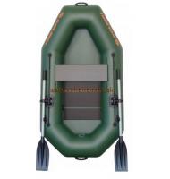 Člun Kolibri K-190 zelený lamelová podlaha