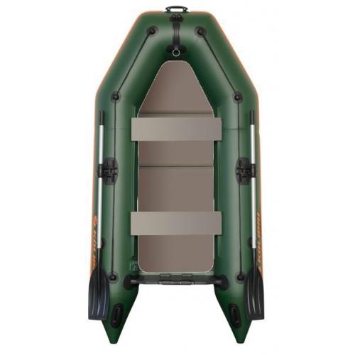 Člun Kolibri KM-260 P zelený, pevná podlaha