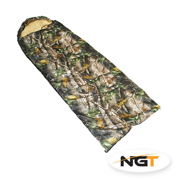NGT Spací Pytel Camo Sleeping Bag  17e253c71a