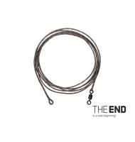 Návazec THE END Leadcore + swivel / 3ks