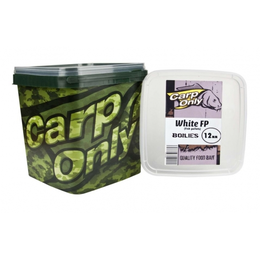 Boilies CARP ONLY White FP 3kg