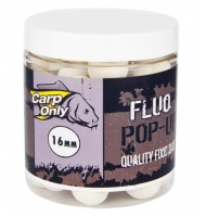 Plovoucí boilies CARP ONLY Fluo White 80g