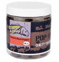 Plovoucí boilies CARP ONLY Peach & Black Pepper 80g