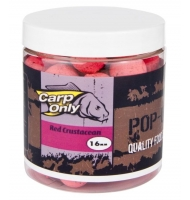 Plovoucí boilies CARP ONLY Red Crustacean 80g