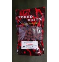 Boilies TORRO BAITS Brusinka-1kg