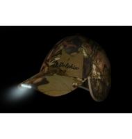 Zimní čepice-kšiltovka DELPHIN s LED doiodami v kšiltu